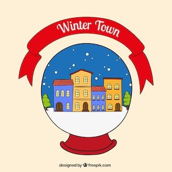 ciudad de invierno