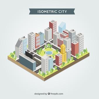 Ciudad isométrica