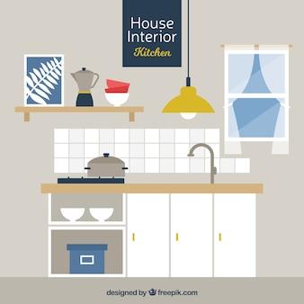 Diseno de interiores fotos y vectores gratis for Disenador de cocinas gratis