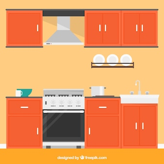 Muebles de cocina fotos y vectores gratis for Muebles gratis