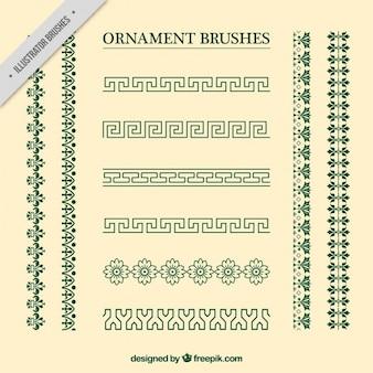 Colección de separadores ornamentales vintage