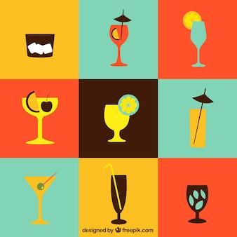 Colección Cocktails iconos