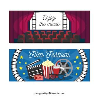 Colección de banners de cine