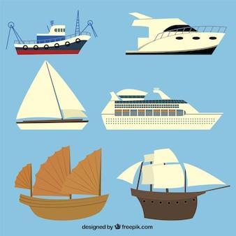 Colección de barcos