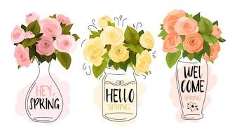 Colección de bienvenida primavera
