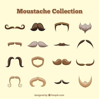 Colección de bigotes geniales