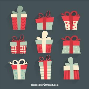 Colección de cajas de regalo