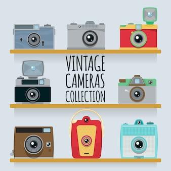 Colección de cámaras vintage