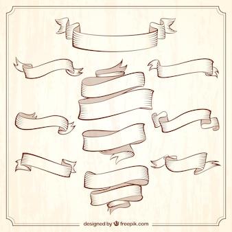 Colección de cintas vintage ornamentales