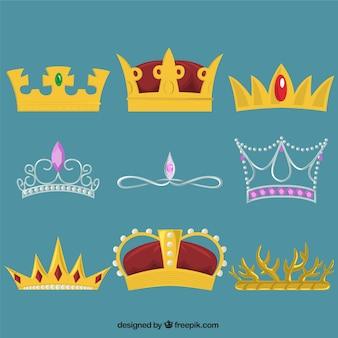 Colección de coronas reales