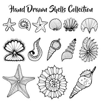 Colección de dibujos a mano