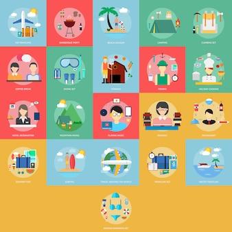 Colección de diferentes diseños