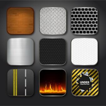 Colección de diseño de texturas