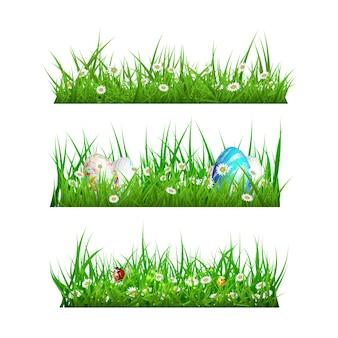 Colección de diseños de hierba