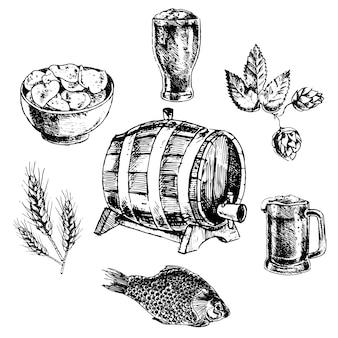 Colección de diseños dibujados a mano