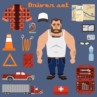 Colección de elementos de conductor