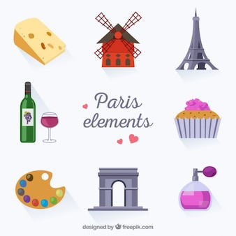 Colección de elementos de parís