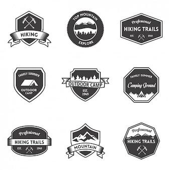 Colección de escudos de aventura