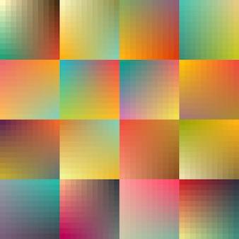 Colección de fondos a color