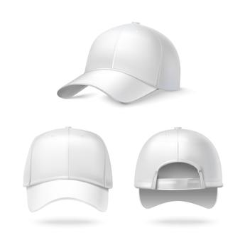 Colección de gorras editables