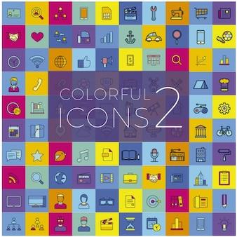 Colección de iconos útiles