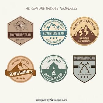 Colección de insignias de aventuras