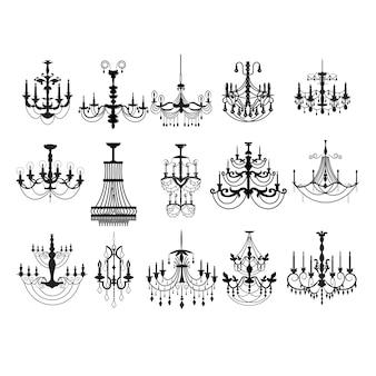 Colección de lámparas vintage