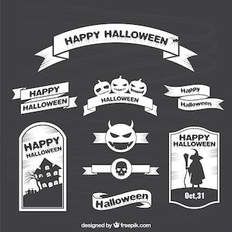 Colección de lazos de Halloween