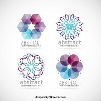 Colección de logos abstractos