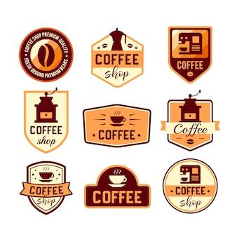 Colección de logos de café