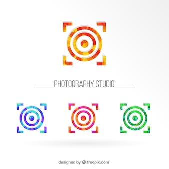 Colección de logos de estudios fotográficos