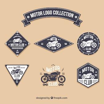 Colección de logos de motor