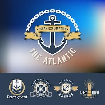 Colección de logos de navegación
