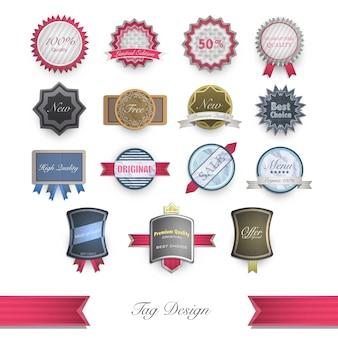Colección de logos lujosos
