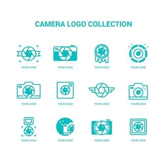 Colección de logotipos de cámaras