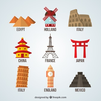 Colección de monumentos del mundo