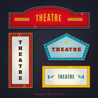 Colección de muestras de teatro