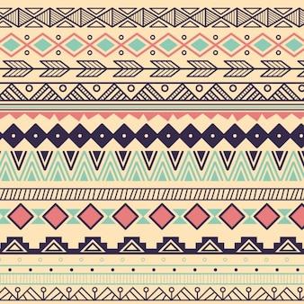 Colección de ornamentos decorativos a color