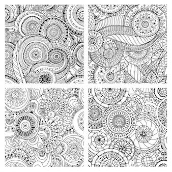 Colección de patrones abstractos