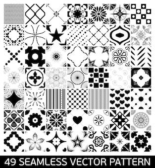 Colección de patrones de mandalas
