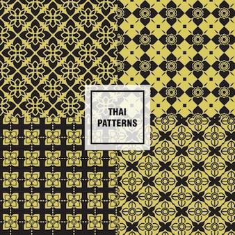 Colección de patrones thai
