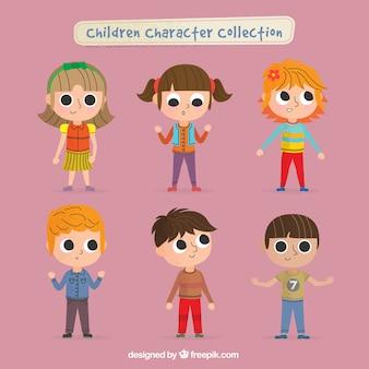 Colección de personajes infantiles