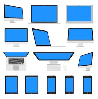 Colección de plantillas de pantallas