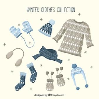 Colección de ropa de invierno