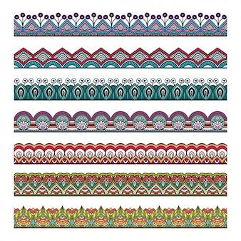 Colección de separadores de mandala