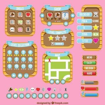 Colección de tableros de juego