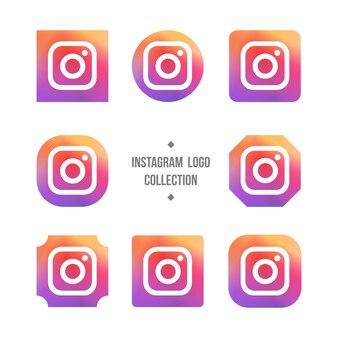 Colección del logotipo de instagram