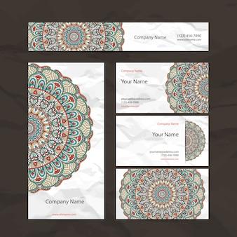 Colección étnica de papelería