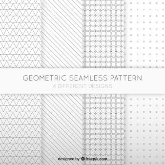 Colección geométrica de patrones