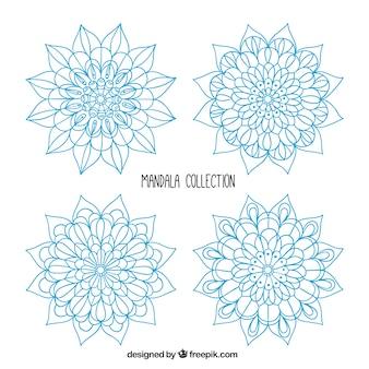 Colección mandala, color azul